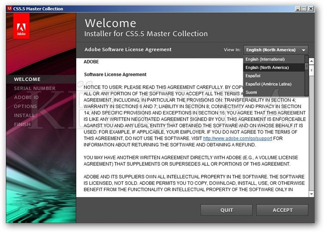 download cs5 5 master collection